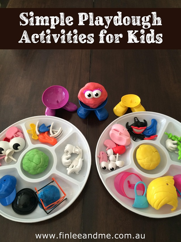 Simple fun Playdough activities Finlee and Me