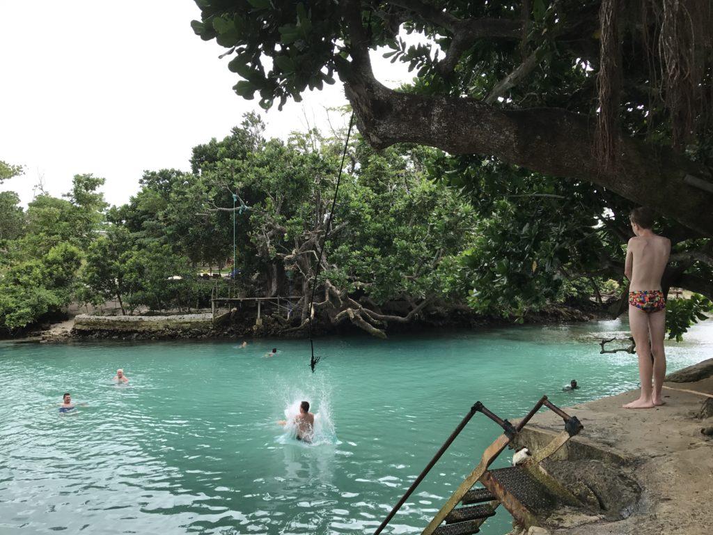 blue lagoon waterhole
